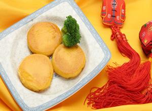 永和豆浆南瓜饼