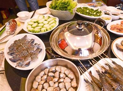 蒸汽火锅加盟菜品