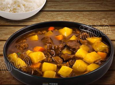 米多面多城市便当人气土豆牛肉