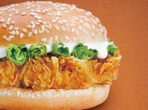 麦肯基原味鸡腿汉堡