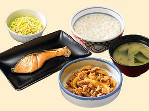 吉野家菜品