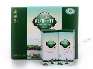 吴裕泰三潭映月西湖龙井绿茶礼盒