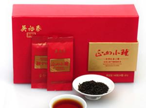 吴裕泰正山小种红茶礼盒