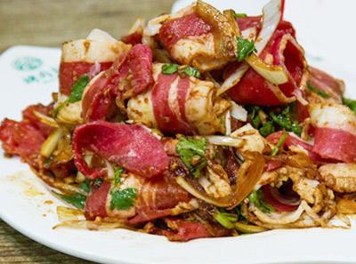 烤肉刘加盟菜品