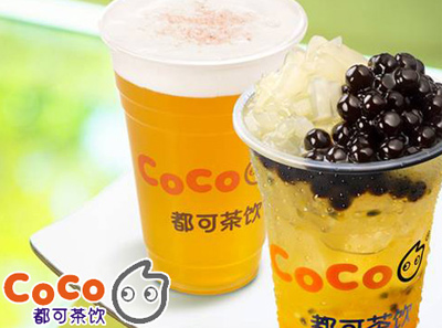 coco都可奶茶加盟