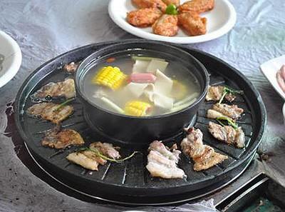 辣尚宫涮烤王加盟菜品