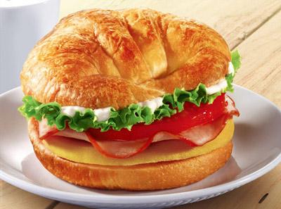 法式火腿汉堡
