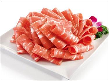 雪花羔羊肉