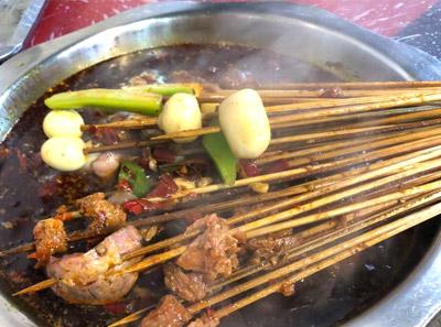红一浪串串香加盟菜品
