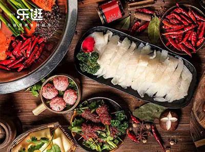 乐逛火锅烧烤食材超市加盟菜品