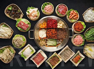 聚龙门火锅串串加盟菜品