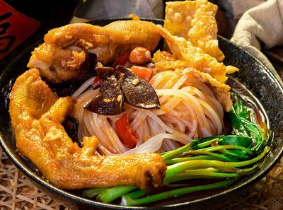 卤王米粉加盟菜品