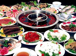 德庄火锅部分菜品