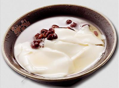 鲜芋仙-紅豆豆花