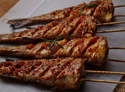 冰城串吧烤鳕鱼