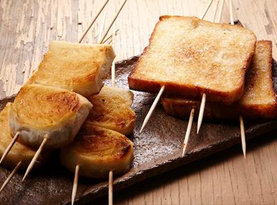 冰城串吧烤面包片