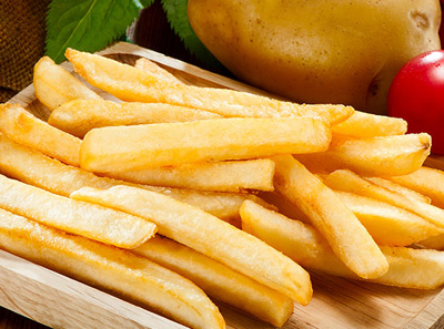 薯格薯条店面