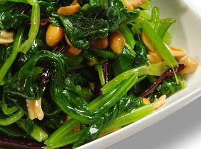东方饺子王—香辣菠菜