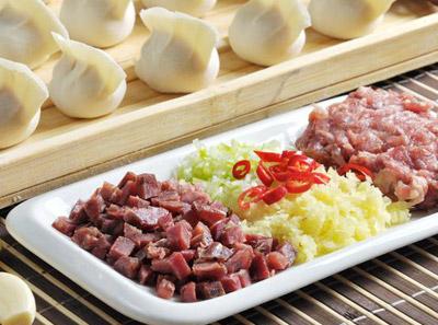 东方饺子王—蜜汁叉烧