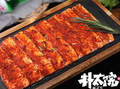 朴太院韩式烤肉加盟菜品