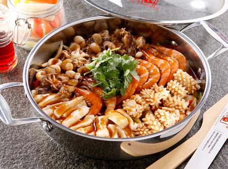 黄记煌海鲜组合锅