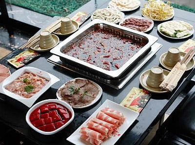 老基地火锅菜品