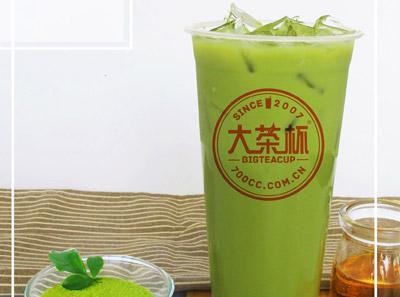 大茶杯奶茶加盟 始于2007年