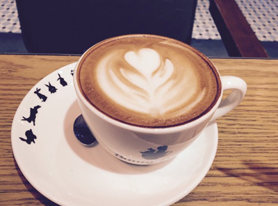 白兔糖咖啡