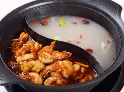 鱼恋虾火锅,恋上鱼的火锅
