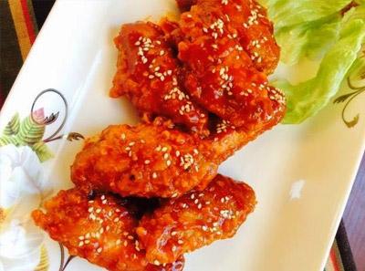 鸡脾咯哒韩式炸鸡