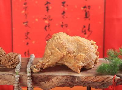 库桥炸鸡,新派国潮炸鸡