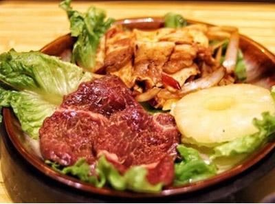 肉坨坨现拌烤肉
