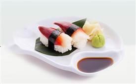 鲜道寿司,一边融化一边香味渐浓