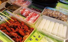 火锅食材超市县级加盟前景如何