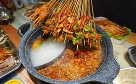签佰度串串火锅,大口吃肉,大口满足,大签更过瘾