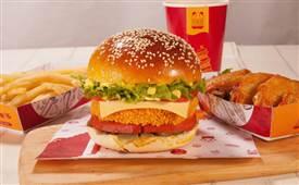 华客多美味汉堡,总有一款适合你