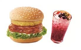 百圣格炸鸡汉堡,合理食材搭配营养又美味