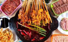 胡格格串串火锅,撸串火锅菜品多种类多吃法多