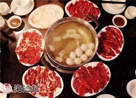 潮汕牛肉火锅的下菜顺序也是有讲究的