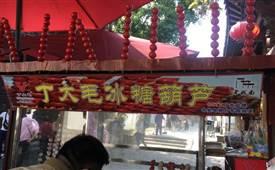 丁大毛糖葫芦,网红小串糖葫芦