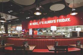 星期五餐厅北京凯迪克门店全新升级开业